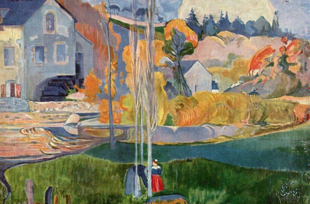 """Sortie au musée de Pont-Aven   """"L'impressionnisme d'après Pont-Aven""""  jeudi 19 décembre 2019"""