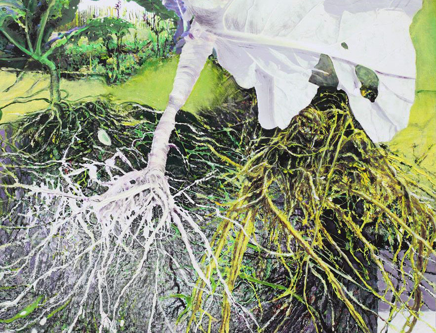 Végétal – Philippe Gentils – expo peintures Château de l'Hermine – 7 au 17 novembre 2019
