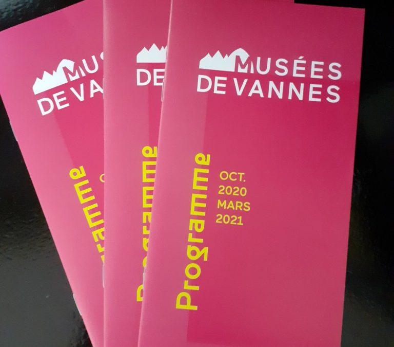 Programme des musées d'octobre 2020 à mars 2021