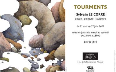 « Tourments » Sylvain Le Corre du21 mai au 19 juin 2021