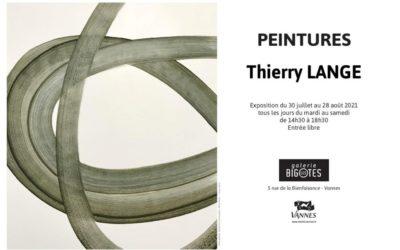 Peintures de Thierry Lange – expo du 20/07 au 28/08/2021